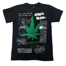 Rock hard vintage legalizá-lo t camisa