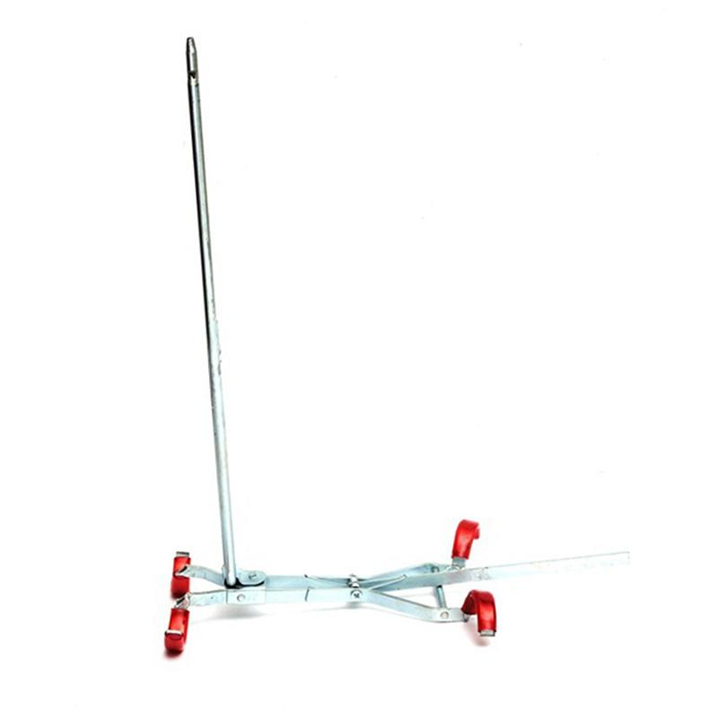 1pcs Simple Double Pole Fishing Fishing Rod Metal Telescopic Holder Adjustable Carp Fishing Tackles Long Pitcher Fishing Tool