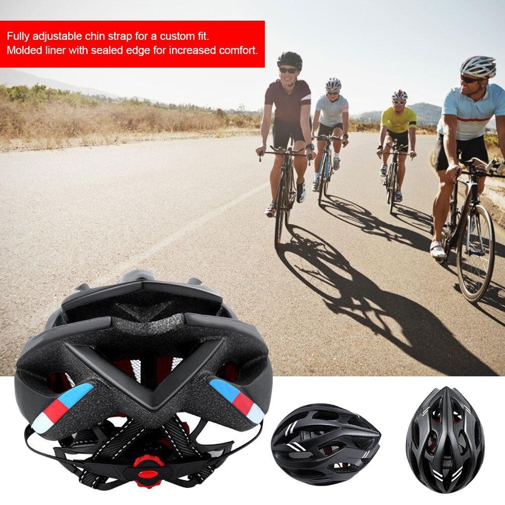 capacete multi-color equitação capacete integrado-molde leve respirável esportes capacete