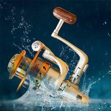YUMOSHI EF1000-9000 Spinning Fishing Reel Metal Wheel Sea Fishing 12BB Metal Coil Spinning Reel Boat Rock Fishing Reel yumoshi sg5000a fishing spinning reel silver size m