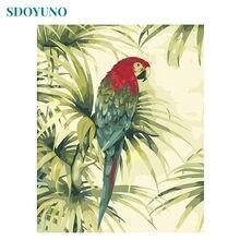 Sdoyuno 60x75 см рамка цветная Летающая фотография по номерам