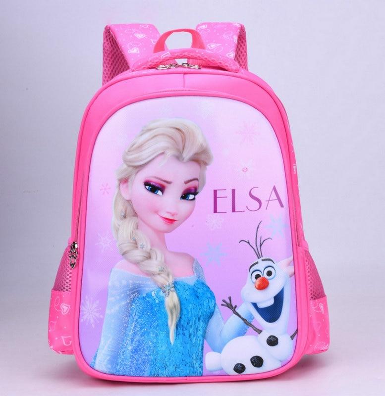New Children Princess School Bag Boys Girls Unicorn Cartoon Kindergarten Schoolbags Kids Orthopedic Backpacks 4-13 Year