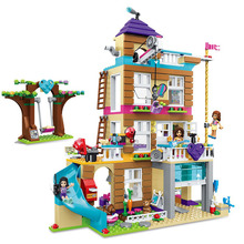 Friends Girl Series755pcs Building Blocks Kids Toys Livi's POP Star House Designer Toy Gifts Compatible Legoinglys 01038 friends legoinglys sunshine catamaran building blocks compatible legoing friends toys classic girls kids figures toys