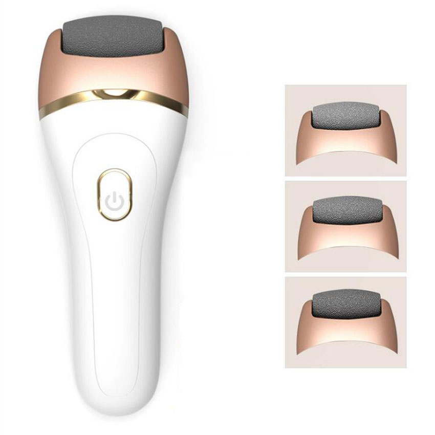 USB Rechargeable Electric Foot Care Tool Grinding Pedicure Kit Feet File Dead Skin Callus Remover Exfoiliator Heel Machine