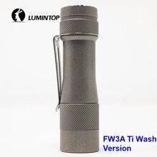 LuminTop FW3A 3 PCS Cree XPL HI Led อิเล็กทรอนิกส์สวิตช์หางยุทธวิธี Strobe แสงเทียน LED ไฟฉายแนะนำ 18650 แบตเตอรี่