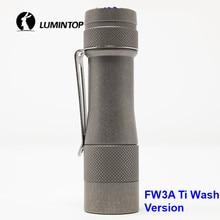 LuminTop FW3A 3 PCS Cree XPL היי נוריות אלקטרוני זנב מתג טקטי Strobe לאור נרות LED לפיד אור מומלץ 18650 סוללה