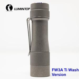 Image 1 - LuminTop FW3A 3 قطعة كري XPL مرحبا المصابيح الذيل الإلكترونية التبديل التكتيكية ستروب ضوء الشموع LED مصباح شعلة أوصى 18650 بطارية
