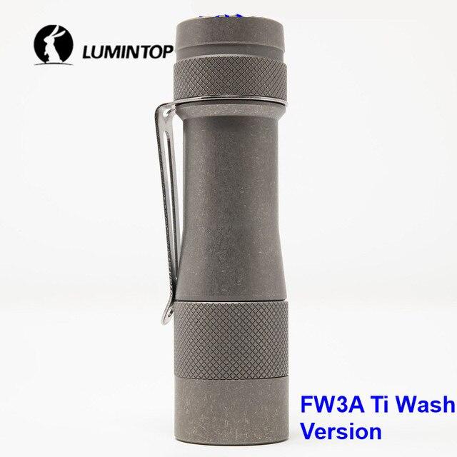 LuminTop FW3A 3 قطعة كري XPL مرحبا المصابيح الذيل الإلكترونية التبديل التكتيكية ستروب ضوء الشموع LED مصباح شعلة أوصى 18650 بطارية