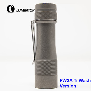 Image 1 - LuminTop FW3A 3PCS Cree XPL HI LEDs Electronic Tail Switch Tactical Strobe Candlelight LED Torch Light Recommended 18650 Battery