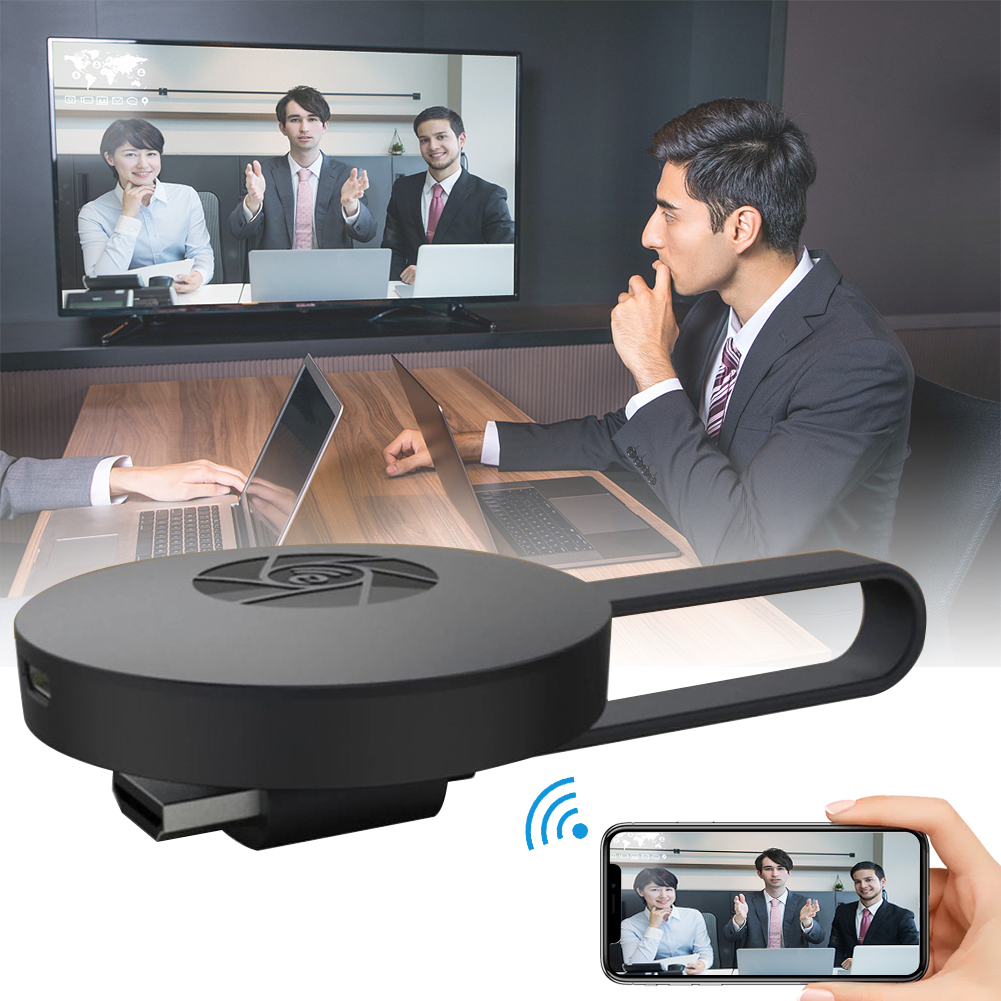 1080P Wireless WiFi Display Dongle TV Stick Video Adapter Airplay DLNA Screen Mirroring Share for iPhone iOS Android Phone to TV - ANKUX Tech Co., Ltd