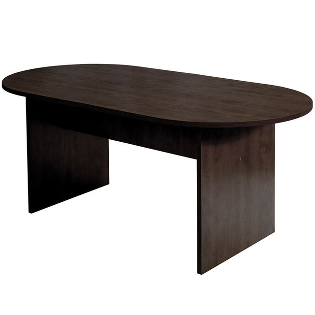 """69"""" x 35"""" Oval Conference Table 5"""