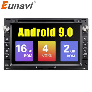 Eunavi Android 9.0 Car GPS For VW PASSAT B5 B4 JETTA BORA GOLF 4 SHARAN POLO MK5 MK4 MK3 T5 TRANSPORTER