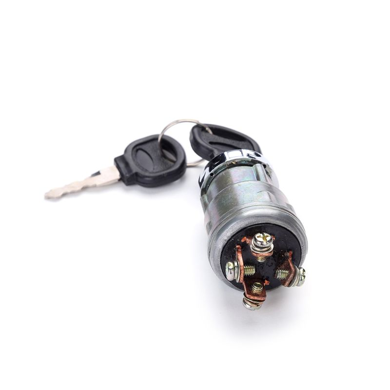 Ignition Switch with Key Lenmumu Universal Engine Starter Switch for Car Motorcycle Tractor Forklift Truck Scooter Trail in Car Switches Relays from Automobiles Motorcycles