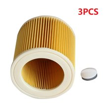 Replacement Air Dust Filters for Karcher Vacuum Cleaners Cartridge HEPA Filter WD2250 WD3.200 MV2 MV3 WD3 Karcher Filter Parts