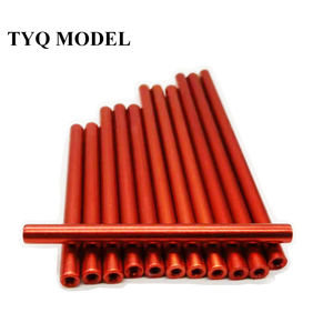 10pcs M3*5/6~100mm red Aluminu