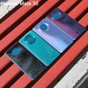 Image 2 - Huaweiฝาหลังแบตเตอรี่เดิมสำหรับHUAWEI Mate 30 Pro 5G Mate30 ด้านหลังฝาครอบด้านหลังป้องกันโทรศัพท์กรณี