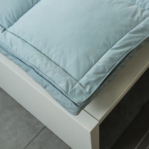 Image 2 - VESCOVO 15CM tatami massage mattress topper matrastopper 100% goose down bed topper for 1.5/1.8m double bed