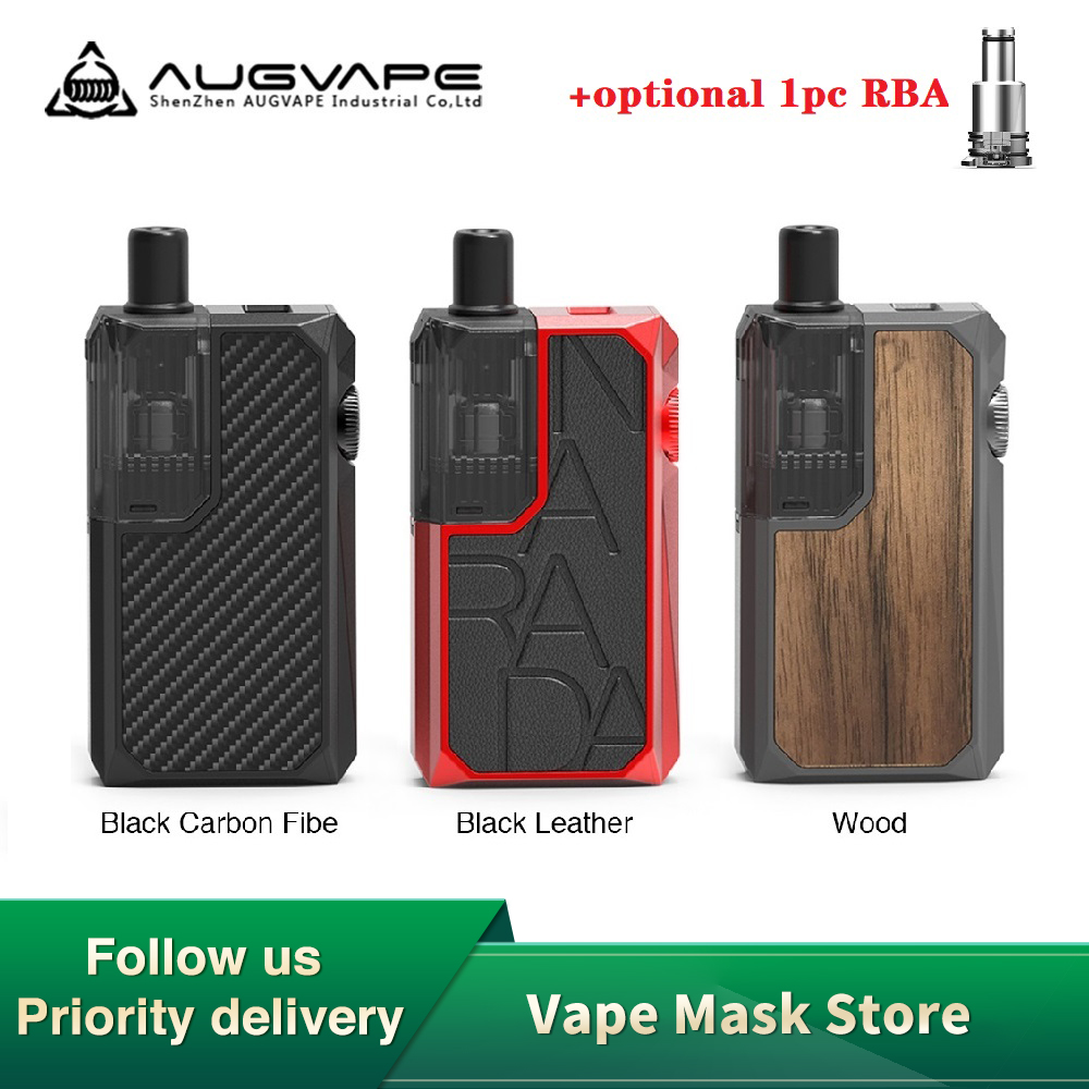 New Original AUGVAPE Narada Pro Mod Pod Kit 950mAh Battery & 3ml Cartridge 0.4ohm/1.0ohm Coil  Pod Syestem Vs Vinci X/ Aegis Pod