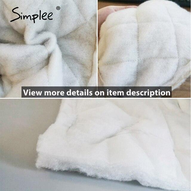 Simplee Long Straight Winter Coat 5