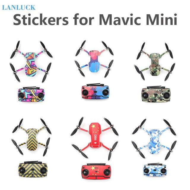 Protective Film PVC Stickers for Mavic Mini Waterproof Scratch proof Decals Full Cover Skin for DJI Mavic Mini Accessories