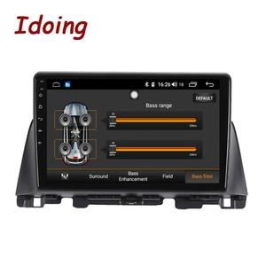 Image 2 - Idoing Radio Multimedia con GPS para coche, Radio con reproductor, Android GPS para coche, 10,2 pulgadas, navegador, no 2 din, DVD, para Kia K5 Optima 3 TF 2003 2012
