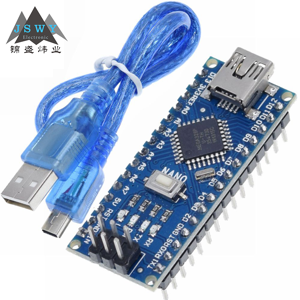 Arduino Nano 3,0 контроллер nano CH340 USB драйвер ATMEGA328P nano Mini USB с Загрузчиком для arduino Бесплатная доставка