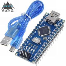 Arduino Nano 3 0 kontroler nano CH340 dysk USB ATMEGA328P nano nano Mini USB z bootloaderem dla arduino darmowa wysyłka tanie tanio CN (pochodzenie) Nowy Voltage Regulator do komputera International standard