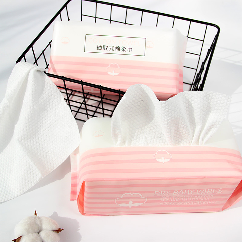 Maternal And Child Disposable Washcloth Pumping Wet And Dry Dual Purpose Face Towel Soft And Skin-Friendly Baby Nursery Cleaning