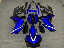 Formowanie wtryskowe nowy ABS motocykl cały zestaw Fairing dla YAMAHA YZF-R3 15 16 17 18 YZF R3 R25 2015 2016 2017 2018 niebieski tanie tanio arcekist CN (pochodzenie) Wtrysku 100 New ABS same photos show YAMAHA YZF-R3 R25