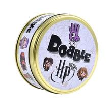 Dobble Spot It Card, boîte à jouets en fer, Hermione Sport, jeu de société pour enfants, cadeau de vacances, en stock