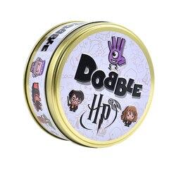 Em Ações Cartão Dobble Detectá-lo Jogo Toy Presente Ferro Caixa Hermione Férias Desportivas Crianças Jogo de Tabuleiro