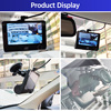 E-ACE Car DVR 3 Cameras Lens 4.0 Inch Dash Camera Dual Lens suppor Rearview Camera Video Recorder Auto Registrator Dvrs Dash Cam 5