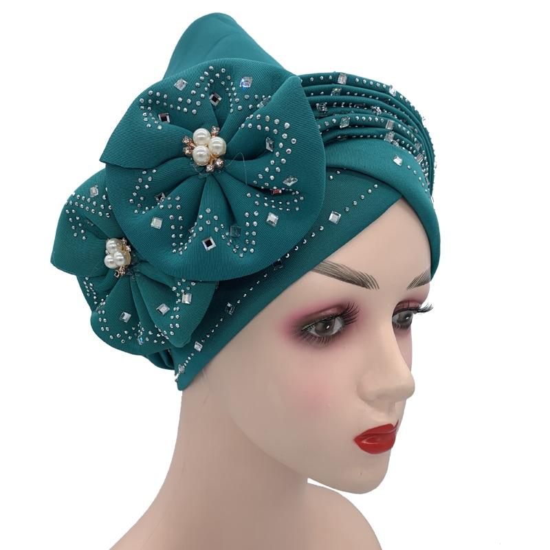 Sequins Turban Cap for Women  Headties 3