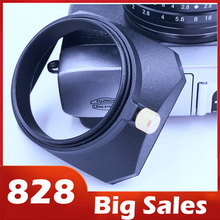 Vendita al dettaglio di NEWYI di Forma Quadrata Paraluce per Fuji Nikon Mini Singolo sacchetto di Macchina Fotografica 46mm/ 49mm/ 52mm/ 39mm/ 40.5mm/ 43mm/ 55mm/ 58mm/ 37mm