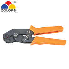 Mini European Style Crimping Pliers Used for Insulated Terminals 24-14AWG Cable End-sleeves Wire Crimper