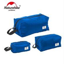 Naturehike saco de armazenamento à prova dultralight água ultraleve portátil S-M-L 3 pçs multifuncional três em um saco de viagem NH18S003-B