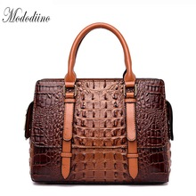 Mododiino Alligator  Women Handbag Female Pu Leather Crossbody Bags Ladies Luxury Handbags Designer DNV1175
