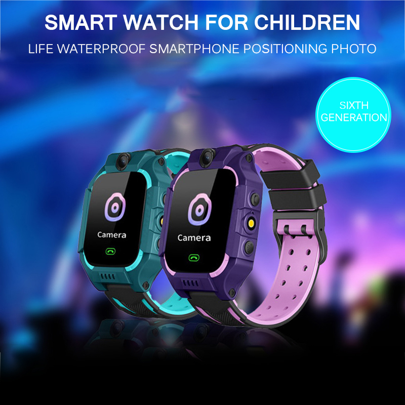 IP67 Waterproof Smart Phone Watch Kids Children Baby GPS Locator Tracker SOS Call SMS For Kids Smartwatch Walkie Talkie-in Smart Watches from Consumer Electronics on AliExpress