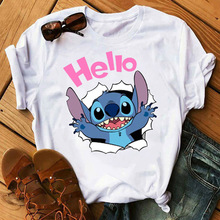 New T Shirt Women Graphic Tees Women Clothes Vintage Tops Te