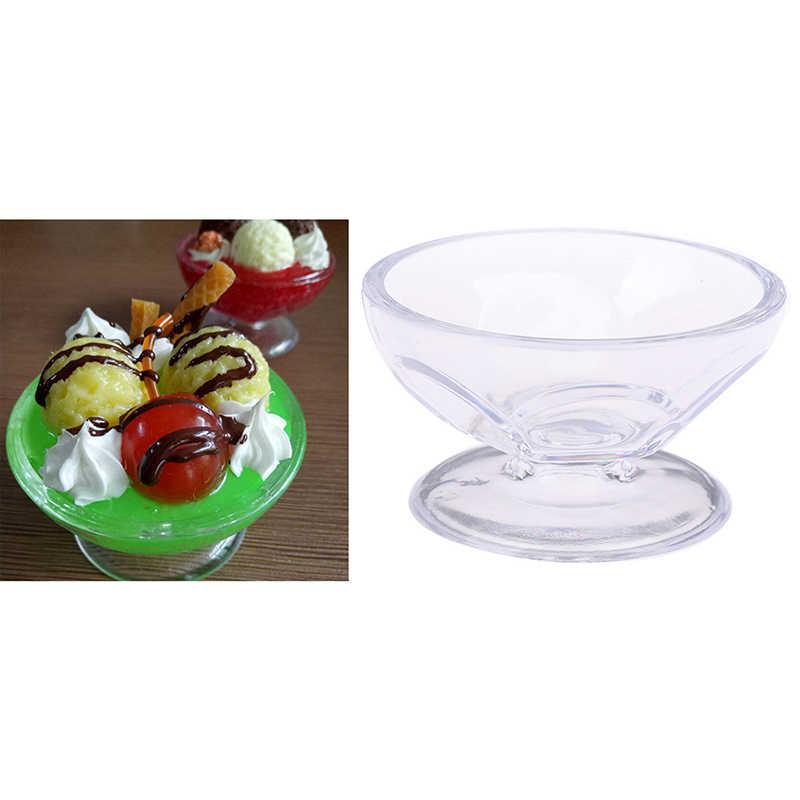 1:6 domek dla lalek śliczny miniaturowy napój kubeczki do lodów Model udawaj zagraj w Mini Food Fit Play House akcesoria dla lalki