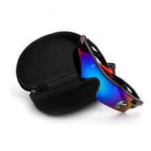 Высококачественный чехол для солнцезащитных очков для женщин EVA Чехол для очков с застежкой Жесткий Чехол для очков модная коробка для