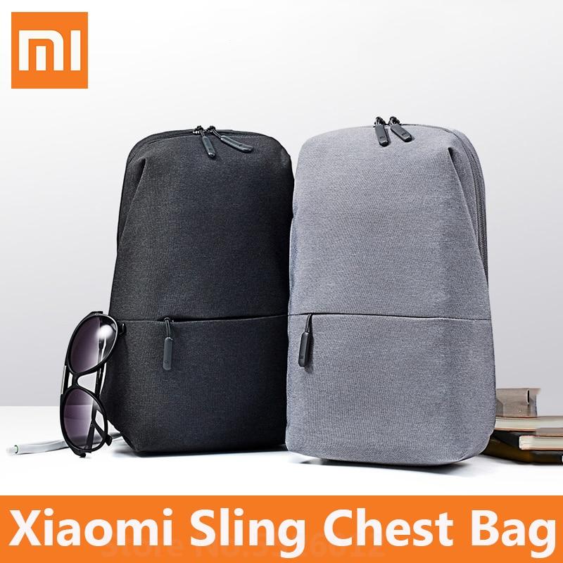 Новый Xiaomi слинг нагрудная Сумка городской Досуг сумка на плечо 4L спортивный рюкзак Водонепроницаемый унисекс рюкзак для мужчин женщин путешествия на открытом воздухе|Смарт-гаджеты|   | АлиЭкспресс