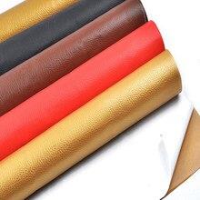 Parches de piel sintética falsa TN de autoadherencia, 50x135cm, para reparación de orificios de sofá, impermeable