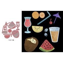Металлические насадки для скрапбукинга чудесные фруктовые соки