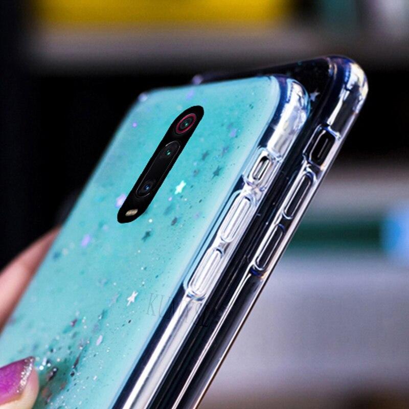 LOVECOM Gradient Bling Glitter Phone Case For Redmi K20 7 Note 7 8 Pro Note 6 Xiaomi 8 Explore 8 Lite 8 9SE Soft Back Cover 3