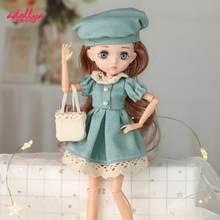Adollya 1/6 BJD Doll pełny zestaw moda Kawaii księżniczka zabawki dla dziewczynek kobiece ciało z ubrania ruchome stawy lalki dla dziewczyn BJD