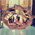 Набор рождественских сцен Zayton, Священная семейная фигурка, домашний декор, статуи Иисуса Христа, миниатюрная скульптура Mary Joseph, рождественс...