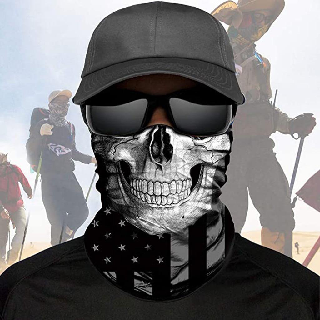 Magic Scarf Outdoor Headwear Bandana Sport Tube UV Face Mask Workout Hiking Windproof Sun Protection Neck Brace Headwear