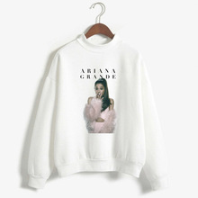 Ariana Grande Occident Fashion Slim Fit Cool Long-sleeved Sw
