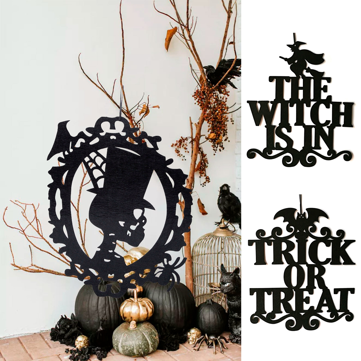 Happy Halloween Decor Set 25